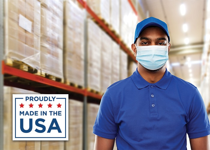 Medical Face Masks - Proudly Made in the USA